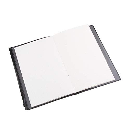 sharprepublic Notizbuch Tagebuch Notizblöcke Mit Reißverschluss Notizbücher zum Schreiben - B