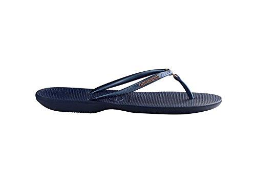 Havaianas - Anillo, Chanclas Azul Marino De Mujer