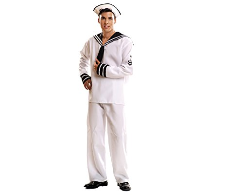 Imagen de my other me  disfraz de marinero para adultos, talla xxl viving costumes mom01019