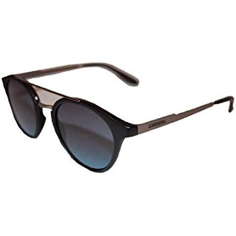 Carrera 123/S Sunglasses CA123S-0QGG-NM-4921 - Black / Dark Ruthenium Frame, Gray Gradient