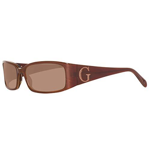 Guess Herren GU6420-55E13 Sonnenbrille, Braun (Brown), 55