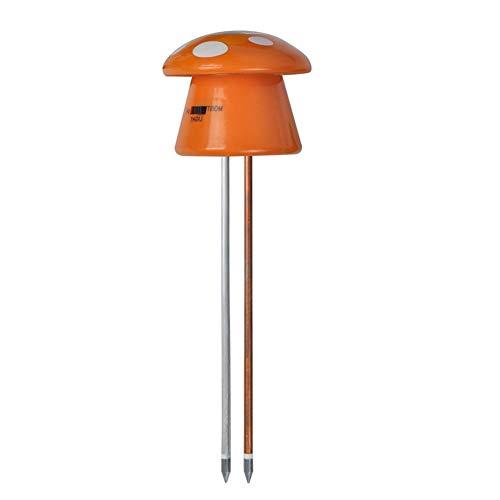 Sponsi 3-in-1 Boden-Boden-Tester Feuchtigkeitsmesser Boden-PH-Meter Digitaler Boden-PH-Wert-Meter Für Pflanzen Garden Farm Lawn Indoor Outdoor -