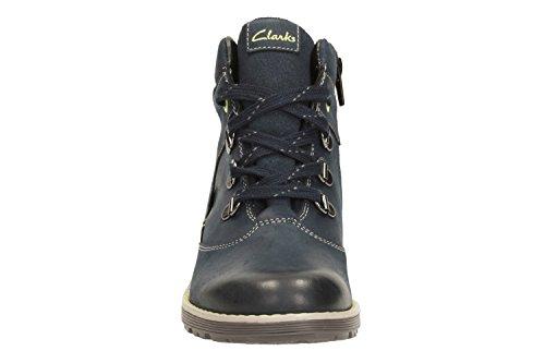 Clarks Day Hi, Boots garçon Bleu