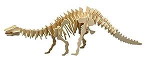 Siva Toys Siva Toys856/8 Brontosaurus Die-Cast - Figura Decorativa para Montar (Madera)
