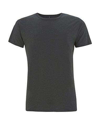 T-Shirt aus Bambusfaser und Bio-Baumwolle: XL, Dunkelgrau (Shirt Tunika Bio)