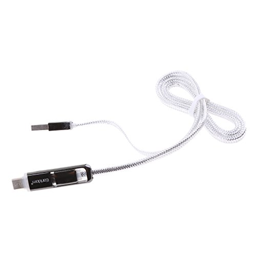 MagiDeal 2 in 1 USB Cable High Quality Micro USB...