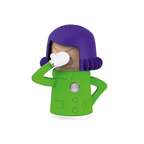 Mikrowelle Reiniger Mama | Ideal als Dampfreiniger Mikrowelle und Backofen| Genialer Küchenhelfer & Reiniger Küche | Kühlschrank Geruchsentferner
