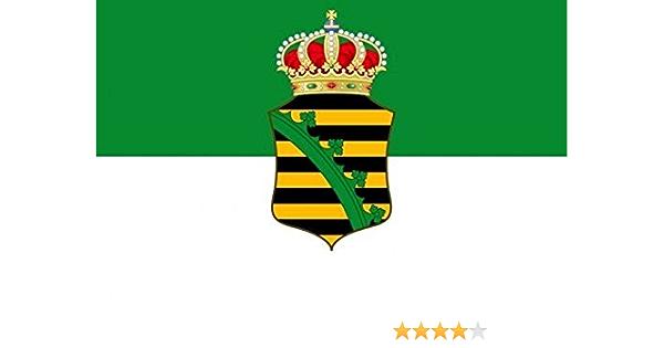 U24 Aufkleber Sachsen Altenburg Flagge Fahne 15 X 10 Cm Autoaufkleber Sticker Auto