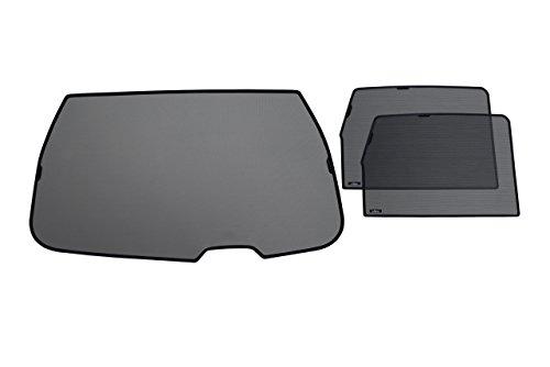 Preisvergleich Produktbild Sonnenschutz-Set für alle hintere Scheiben Daewoo Matiz 2 Hatchback 5 (2000 - 2016) DX, BEST with door panel