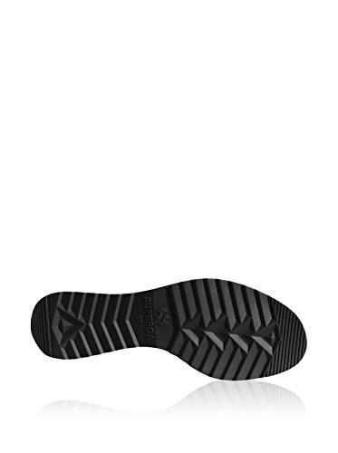 Superga 4887-PLUS ROMA SUNYU WHITE-BLACK White-Black