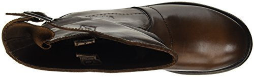 Marrone Tdm W 176 Boot High Damen Top Dyed Mid BIKKEMBERGS Leat Vintage SP6vwq