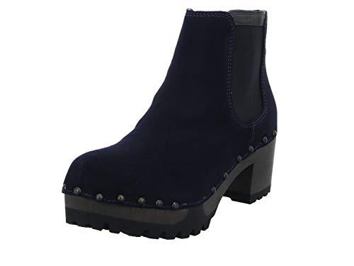 Softclox S3358 Isabelle - Damen Schuhe Stiefeletten - dark-ocean-18, Größe:39 EU