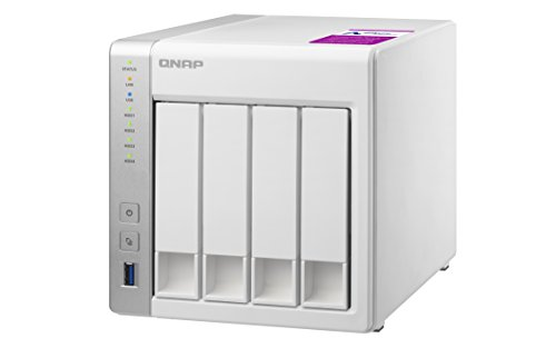 QNAP TS-431P2-1G Desktop NAS Gehäuse mit 1 GB DDR3 RAM, Powerful 4-Bay Storage Server