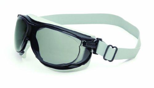 Uvex S1651D Carbon Vision Safety Eyewear, Black/Grey by Uvex