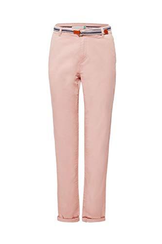 ESPRIT Damen Hose 999EE1B800, Rosa (Old Pink 680), W42/L30(Herstellergröße: 42/30)