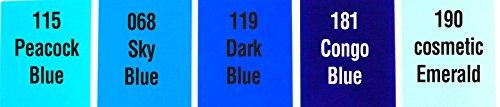 Profi Farbfilterset BLAU - Colorfilterset PRO - BLUE 100x120cm