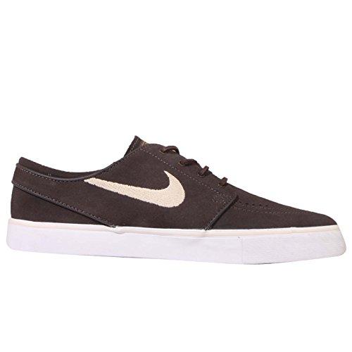 Nike Jungen Zoom Stefan Janoski OG Skaterschuhe Marrón (Cppccn / Snddrft-White-Mtllc Gld)
