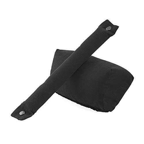 Je porte mon bébé Physiocarrier Pack Réhausseur/Encolure Amovible Noir
