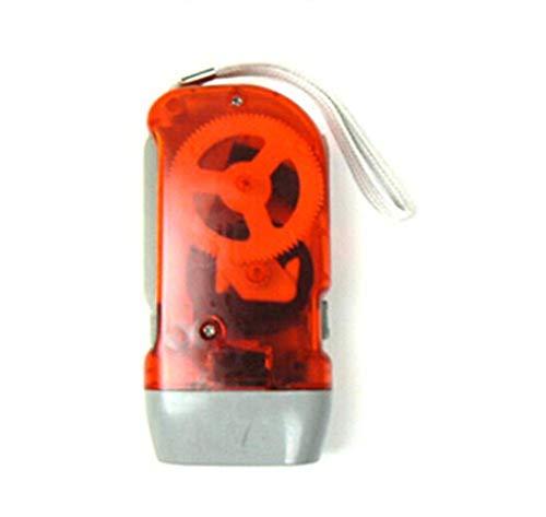 Taschenlampe mit 3 LEDs, Handpresse, Kurbel NR Camping (1 Stück)