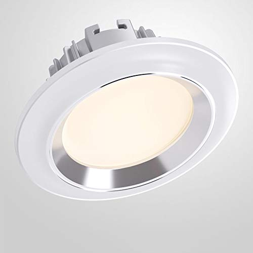 Modenny Einstellbare Farbtemperaturenergieeinsparung LED-Downlight-Patch DREI-Farben-Dimming-Deckeneinbauleuchten Ultra Bright Anti-Blend-Aluminium-Handelsbeleuchtung mit Fahrer -