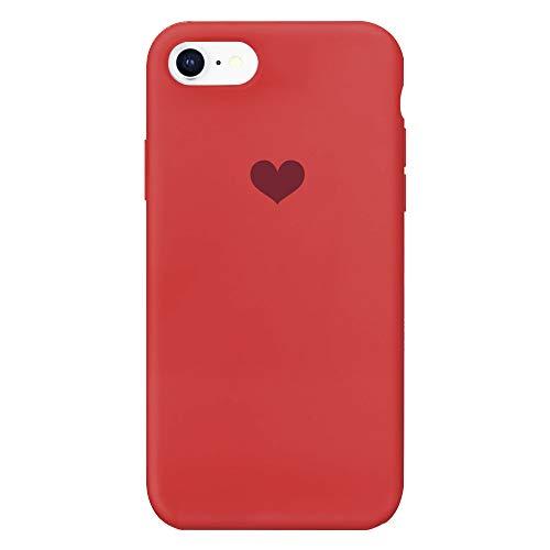 Kompatibel mit Iphone 6 Hülle Silikon Iphone 6S Schutzhülle Handyhülle Iphone 6 Plus Silikonhülle Herz Motiv schutzschale Iphone 6S Plus Hüllen Tasche Handytasche Weiche Etui (3, 6 Plus/6S Plus) - 6 Plus Zubehör