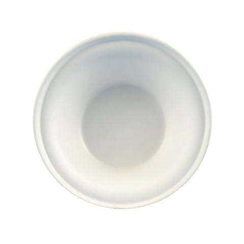 Papstar Pappschale / Einwegschale rund, weiß