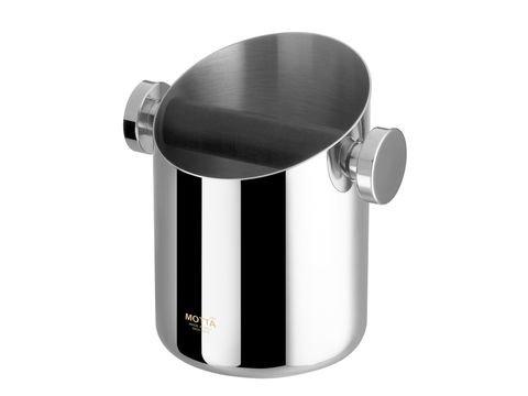 Motta Abschlagbehälter zylinderförmig Edelstahl poliert