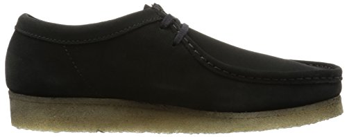 Clarks Originals Wallabee, Chaussures de ville homme Noir (Black Sde)