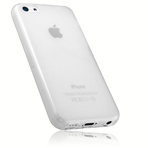 Preisvergleich Produktbild mumbi Schutzhülle für iPhone 5c Hülle transparent weiss