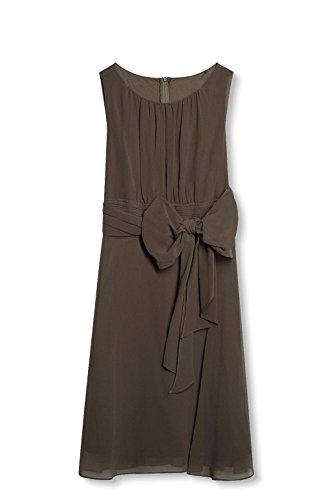 ESPRIT Collection Damen Kleid Braun (Taupe 240) 01f25f4cf2