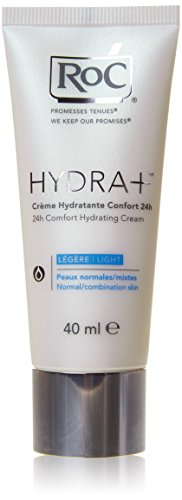 roc hydra+ creme hydratante confort 24h legere 40ml