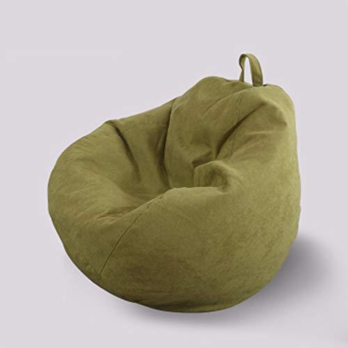 HEIFEN Classic Bean Bag Chair Weiche und Bequeme Baumwolle, Samtmaterial Lazy Sofa - Medium 80cm * 90cm (31.49 Zoll * 35.43 Zoll) Sitzsack Sofa, gefüllt mit Styroporpartikeln, kann gereinigt Werden -