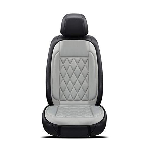 leap-G Beheizbare Sitzauflage, Auto heizmatte pkw sitzauflage, Sitzheizung Warm Up schwarz/grau +...