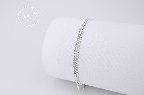 gloria-zartes-layering-armband-925-sterling-silber-nylon