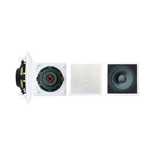 Pyle PDIWS10 Subwoofer, 10 Stück, passiv, 180 W (RMS) / 360 W (PMPO), Weiß