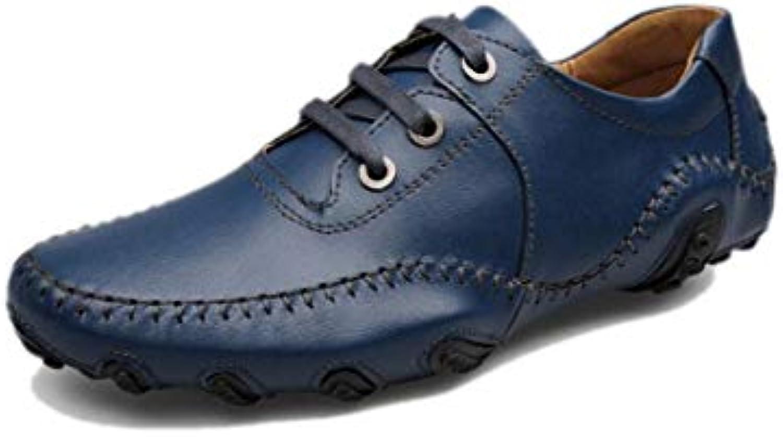 Zapatos Casuales De Los Hombres De Negocios Cinta Suave Redondo Puntiagudo Primavera Otoño Verano Invierno Color... -