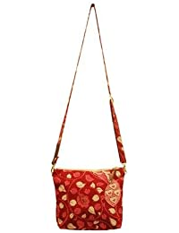 Clean Planet Indiegenius Handcrafted | Eco Friendly | Cotton Material | Hand Wash | Leather Strap Cross Body Shoulder...