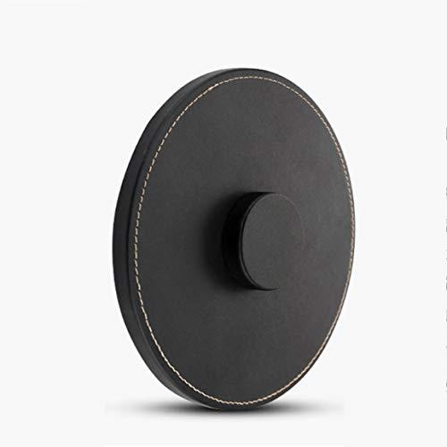 Sin Hilos Cuero Base Altavoz Bluetooth Antideslizante