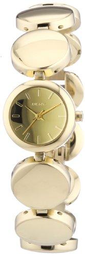 DKNY  NY8867 - Reloj de cuarzo para hombre, con correa de aleación, color dorado