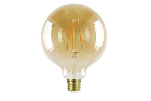 Integral LED-Lampe, 5 W = 40 W, Sonnenuntergang, Vintage, 1800 K, 380 lm, ES E27, Schraubsockel, dimmbar, 125 mm, Globe Integral Led