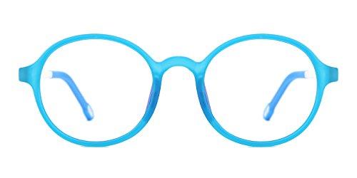 TIJN Rund Brille Ohne Sehstärke Brillengestel Mädchen Jungen