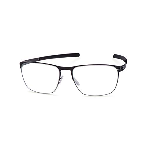 IC!BERLIN Eyewear Benjamin S. Black 56 Made in Germany 100% Authentic New