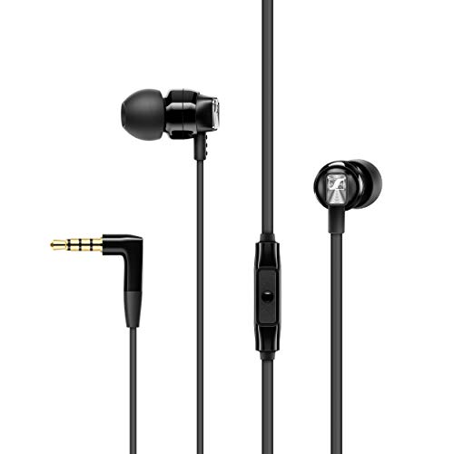 Sennheiser CX 300S Ear-Canal Headphones with Universal Smart Remote - Black Best Price and Cheapest