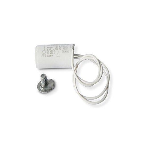Condensatore permanente per motore con fili, 4µF