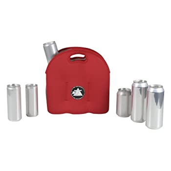 10t Outdoor Equipment 10t Cooler 6 X 500ml Neopren Dosenkühler Flaschenkühler Kühler Getränkekühler Kühltasche Mit Tragegriff 10
