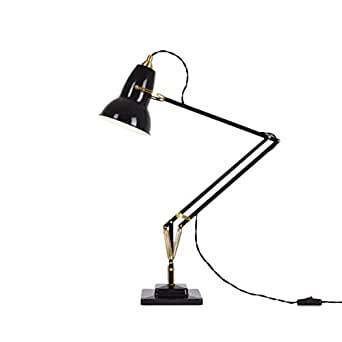 Anglepoise Original 1227 Brass Desk Lamp - Deep Slate
