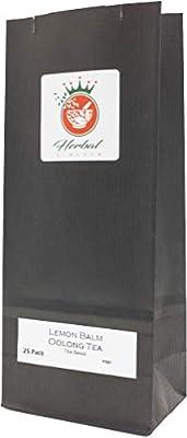 Mélisse biologique et le thé Oolong sachets de tisane - paquet de 25