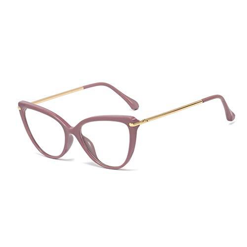 Juleya Cat Eye Brille für Männer Frauen - Mode Brillen Brillengestell - J19090503