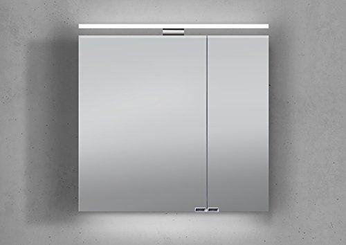Bad Spiegelschrank mit Beleuchtung - Hochwertiger Spiegelschrank