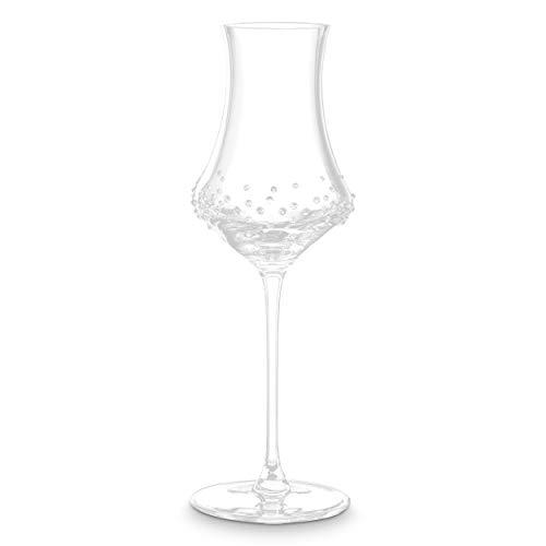 Merandi alari - set di 2 bicchieri da degustazione in vetro spiegelau® con cristalli swarovski®, 190 ml